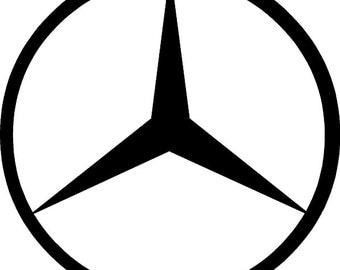 Mercedes Vinyl Decal
