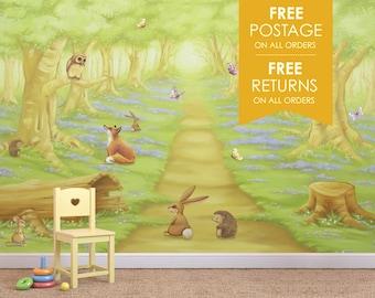 Childrens Woodland Wallpaper