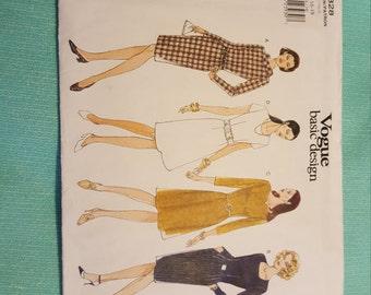 Vintage Vogue#1828 SIZE 14-16-18 UNCUT