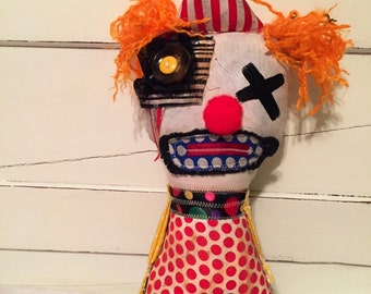 Handmade art doll ( Clownwanker )