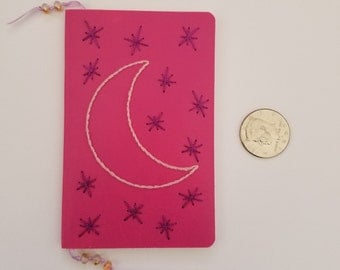 Small Notebook: Moon & Stars