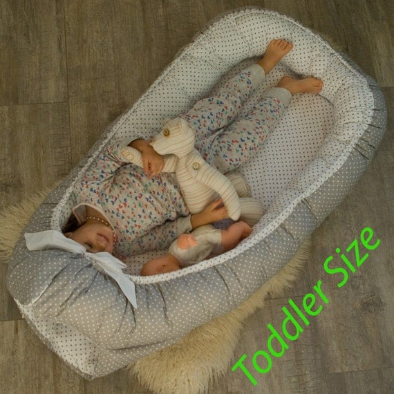 Toddler Size Ready To Ship Double Sided Babynest Sleep Bed