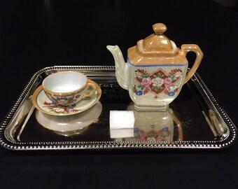 Montessori Teapot Pouring Activity