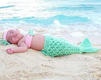 Mermaid crochet 4 different models