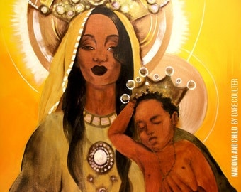 Madonna and Child Giclee