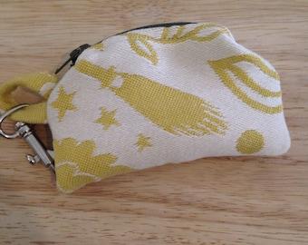 Cari Slings Golden Snitch Mini Change Purse