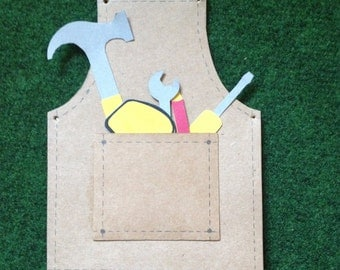 Apron and Tool Card