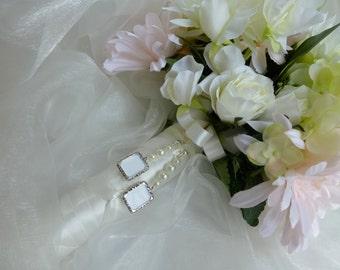 Bridal Photo Memory Charm Double Frame Memorial Photo Charm Wedding