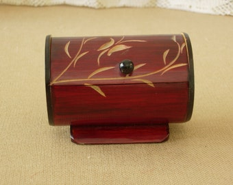 Jewelry Box Carved Bamboo