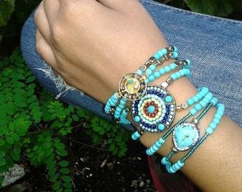 Set of 7 bracelets