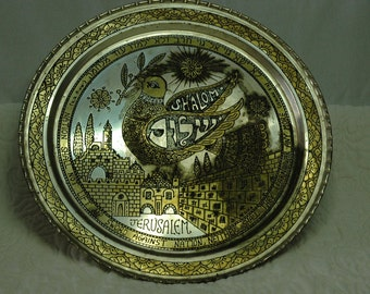 Decorative dish Jerusalem