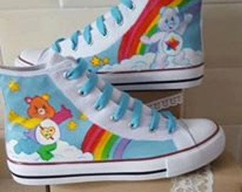 care bears commission shoes hi tops