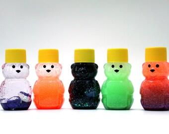 Mini Sensory Bear - Sensory Toy - Sensory Bottle - Autism Toys - Autism Sensory Toys - Sensory Bear Variety Pack