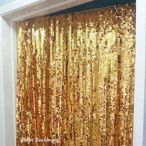 Graduation Party Sequin Backdrop Gold Graduation Gifts