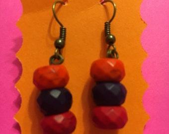3 beads/ warm