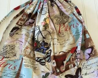 Paris themed lingerie/laundry bag