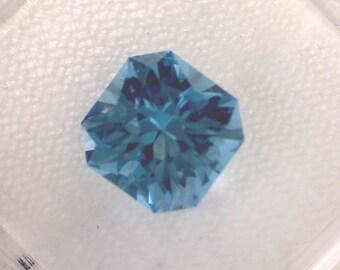 Elegant & Stylish - 3.05ct Bright Electric Blue Topaz - Near Flawless - Custom Cut