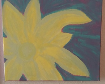 Whimsical Flower Painting