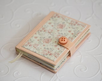 Mini book - handmade