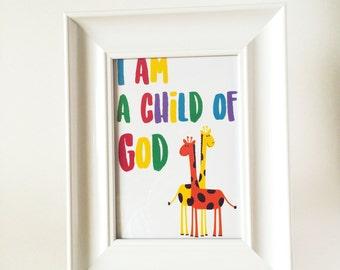 I am a Child of God - Giraffes