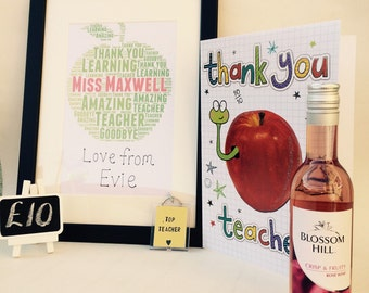 Teacher 'Thank you' gift bundle