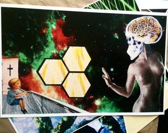 11 x 17 in. Collage Prints