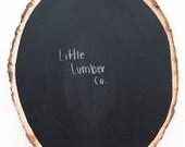 Rustic Chalkboard Decor