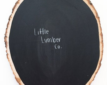 Rustic Chalkboard Decor
