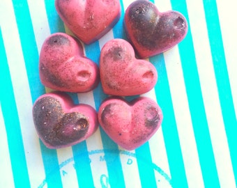 6 Cheeky Cherry scented soy wax melts