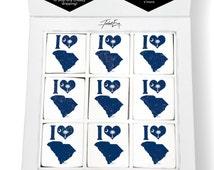 I Love South Carolina Printed Magical Marshmallows