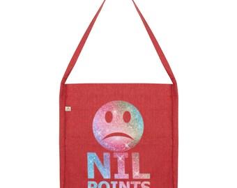 Nil Points Sad Face Tote Bag