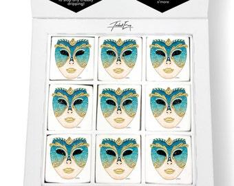 Venetian Carnival Mask Printed Magical Marshmallows