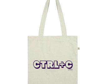 Ctrl C Copy Twins Tote Bag