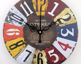 Vintage Wall Clock-Antique