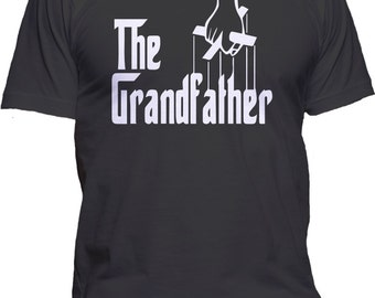 The Grandfather Fathers Day T-Shirt Godfather Parody Graphic Tee