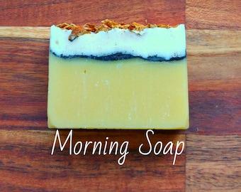 SOAP - Morning Soap - Natural soap, Organic soap, Vegan soap, Jewish soap, Artisan soap, Handmade soap
