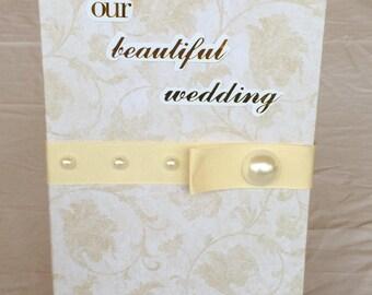 Wedding Journal /Notebook