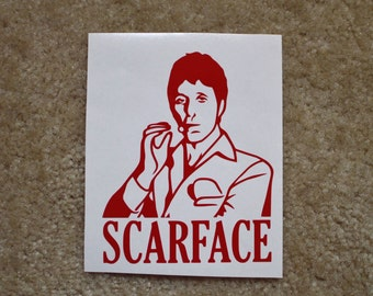Scarface Decal
