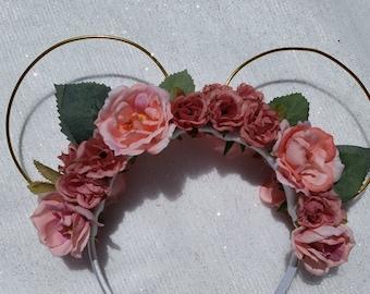 Pink/Mauve Ears
