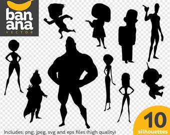 SALE Incredibles png jpg svg eps files high resolution BV-FA-0029