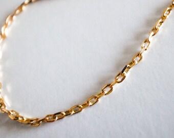 20 Meters Raw Brass Chain