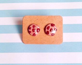 Chocolate chip cookie -Earrings!
