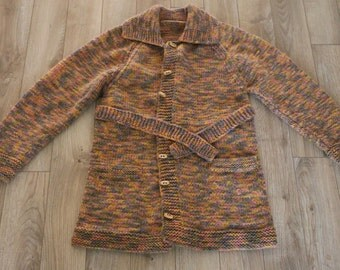 Handmade Sweater / Sweater-Jacket / Sweater-Coat