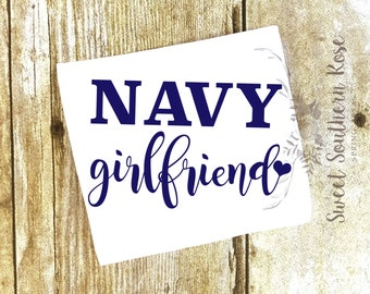 Items Similar To I Love My Chief Car Decal Navy Chiefs