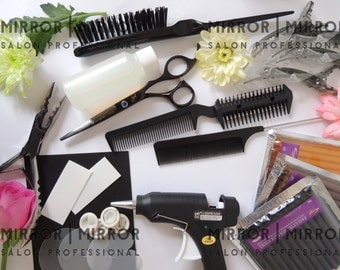 Hair Extension Hot Fusion kit with step by step instructions Free UK Post