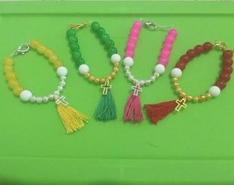 Religious bracelet to remember