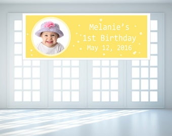 Personalized Baby Photo Banner (FJM696660-EM)