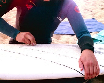 Road to Sea n 1 - Analog Photography - Girls in surfing - France - Lifestyle