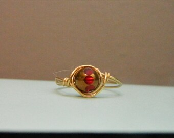 Red spotted Ring