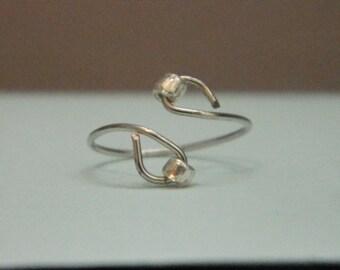 Beaded Midi Ring